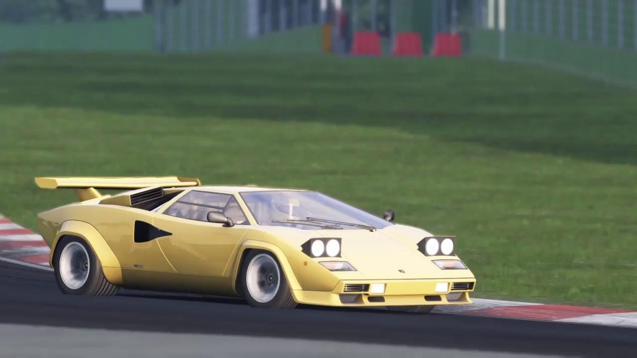 Assetto Corsa Ps4 Special Event Teenage Dream Lamborghini Countach
