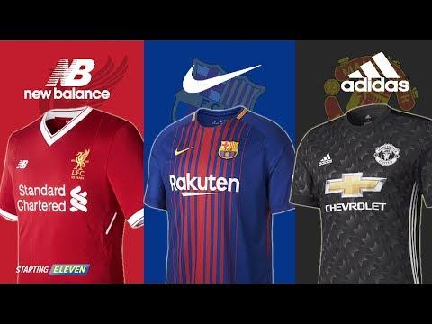 Iniloh Jersey Sepak Bola Klub Eropa Terbaru Untuk Musim Depan 2017/ 2018  ● HD