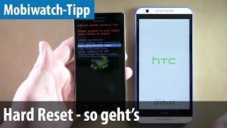 Hard Reset auf dem Smartphone durchführen - so geht's   deutsch / german
