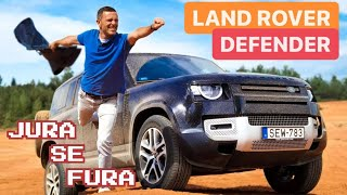 Nasljednik legende - Land Rover Defender - Jura se Fura