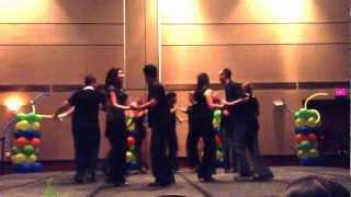 Gator Salsa Club Improvised Rueda De Casino At Hsa Week 2013