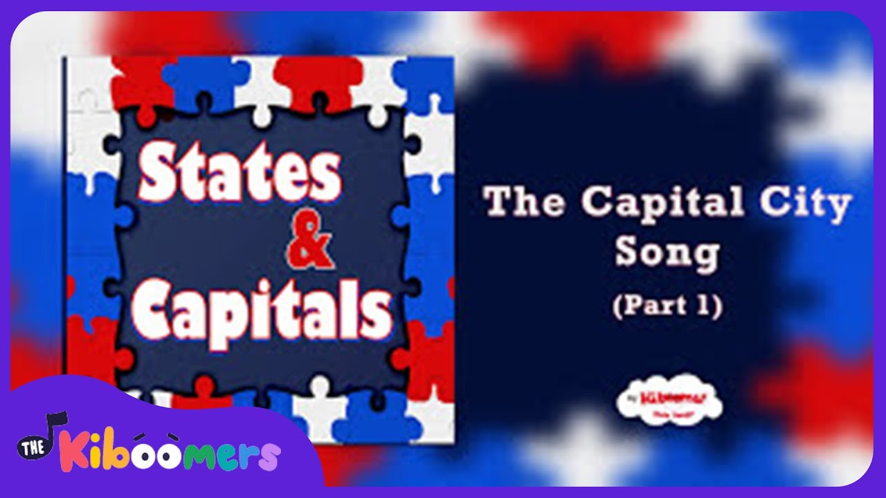 States And Capitals Songs For Children  States And Capitals - States of usa in alphabetical order with capitals