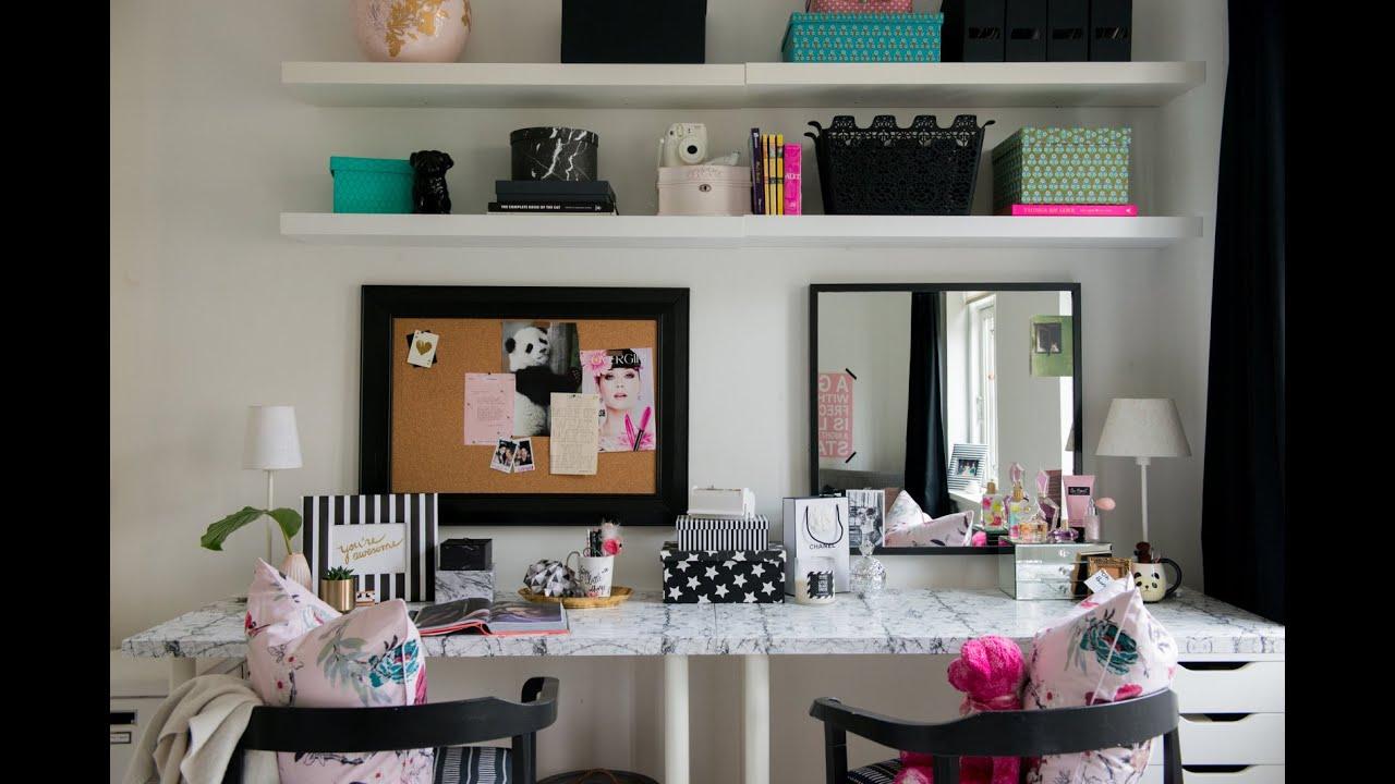Teen Bedroom Makeover The Desk Amp Vanity Diy Room Decor