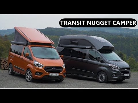 2019 Ford Transit Custom Nugget Camper Youtube