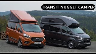 2019 Ford Transit Custom Nugget Camper