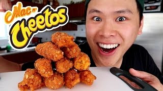 BURGER KING MAC N' CHEETOS TASTE TEST!!