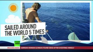 Around the globe in 11 days: 64yo Russian adventurer breaks world record