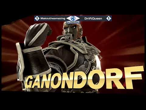 Lantrek 2018 - WiiU Singles - Losers Quarters - Makzutheamazing(Ganondorf) vs DriftQueen(Lucario)