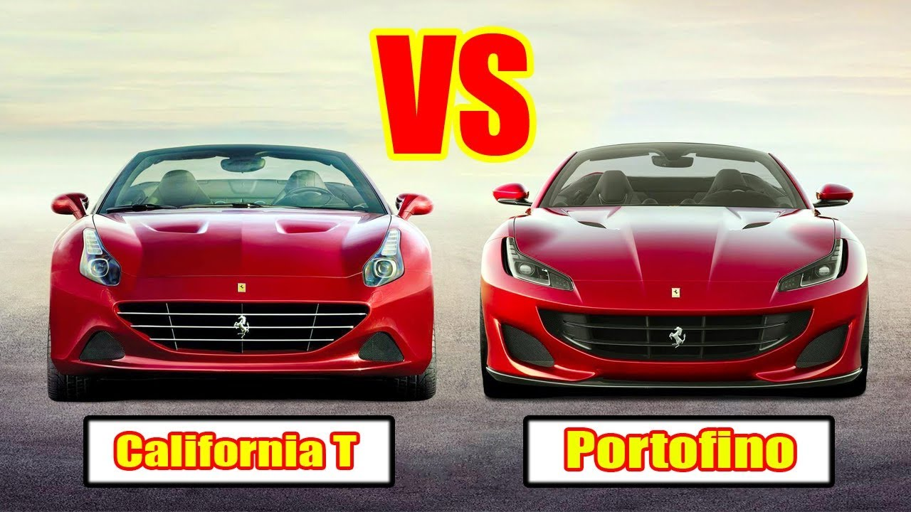 Ferrari Portofino Vs California T