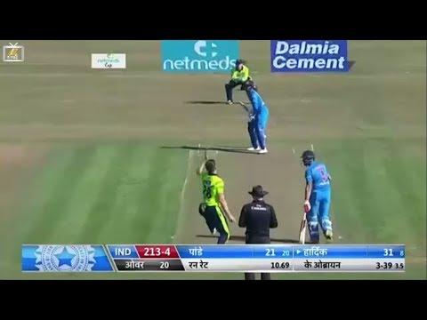 Ireland vs India 2nd T20 Live: भारत ने आयरलैंड को दिया 214 रनों का लक्ष्य.