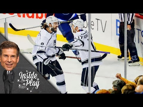 Ilya Kovalchuk's First Goal with the LA Kings | Inside the Play