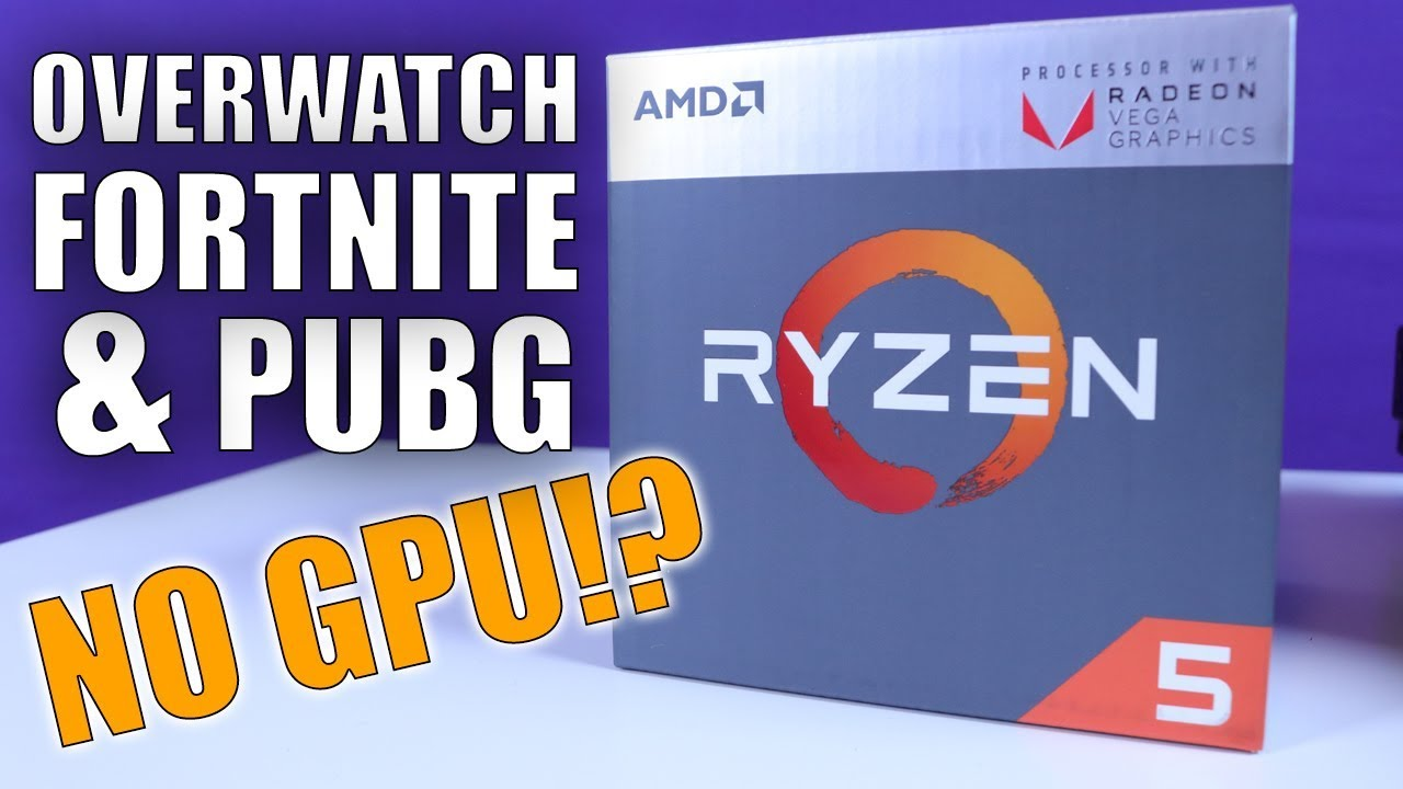 Playing AAA Titles Without a Graphics Card! | Ryzen 5 2400g APU