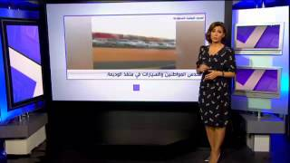 #أنا_أرى : تكدس المواطنين والسيارات في منفذ الوديعة