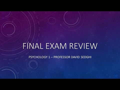 final exam psychology Practice exam questions for final exam which of the following statements about loneliness is true (9) a it is a subjective experience and not related to the number.