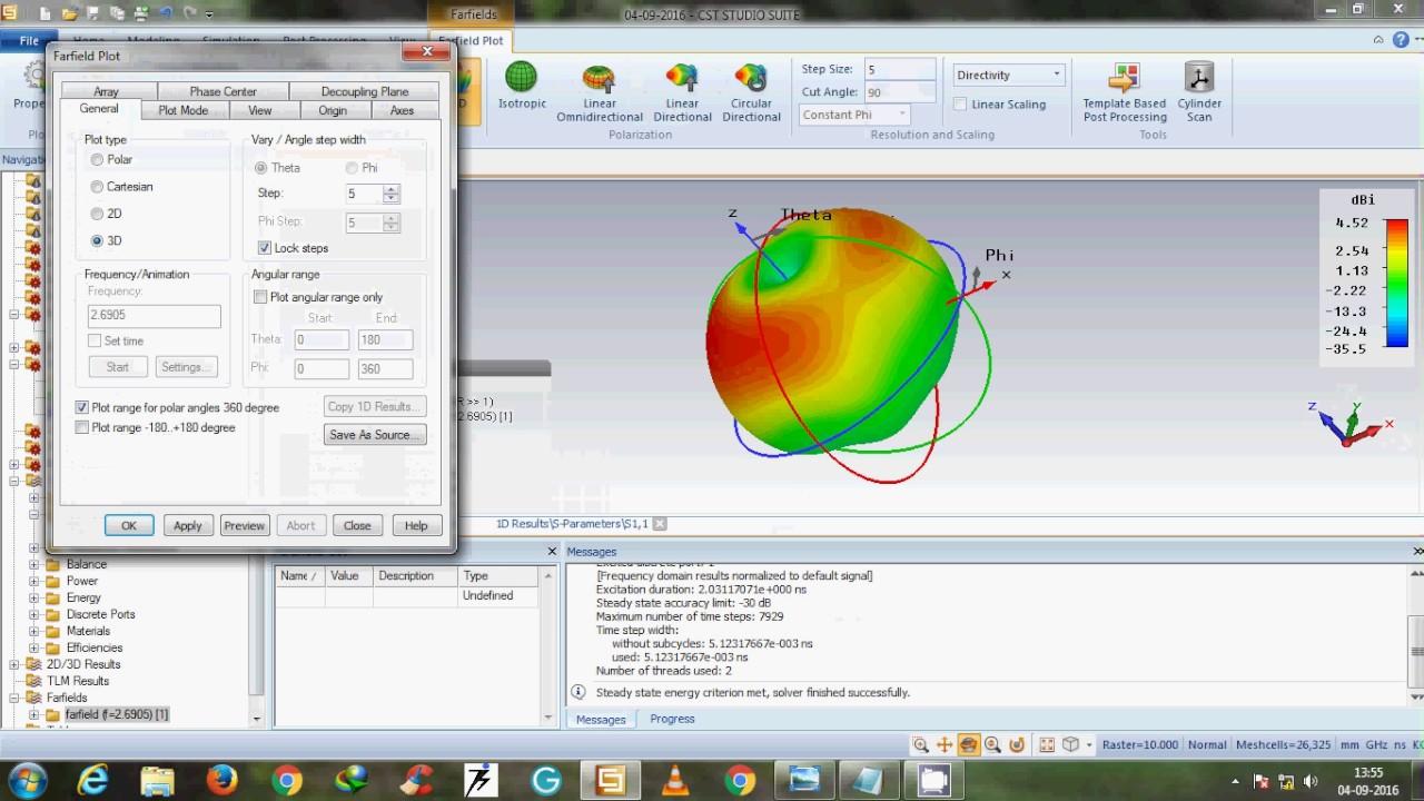 Microstrip Patch Antenna using CST Microwave Studio