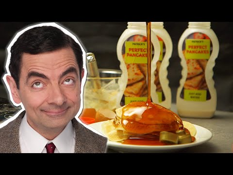 How To Make Pancakes With Mr Bean | Handy Bean | Mr Bean Official