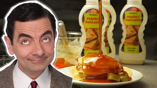 How to Make Pancakes With Mr Bean  Handy Bean  Mr Bean Official