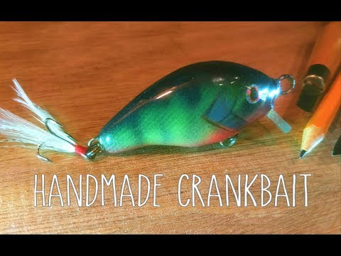DIY Making  a Crankbait Lure from Wood - handmade  Ep. 115