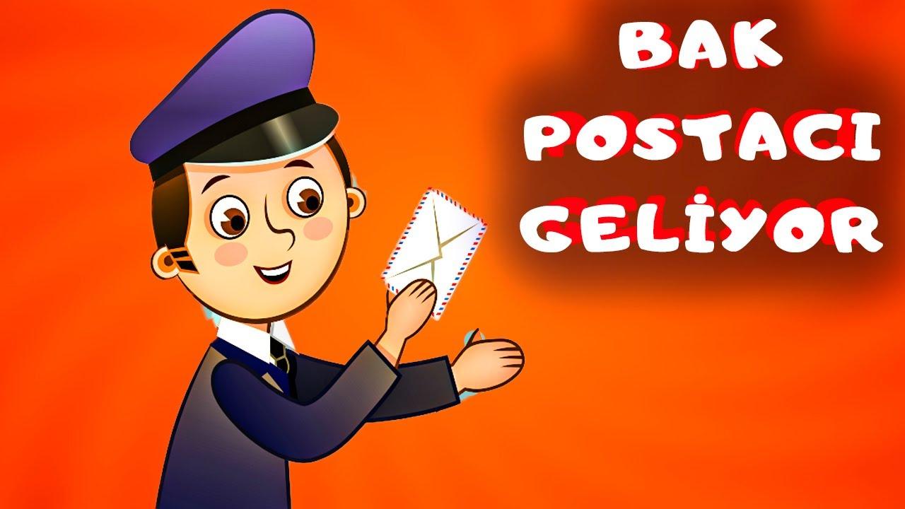 Bak Postacı Geliyor - Minicik Dostlar Anaokulu Şarkıları / Çocuk Şarkısı