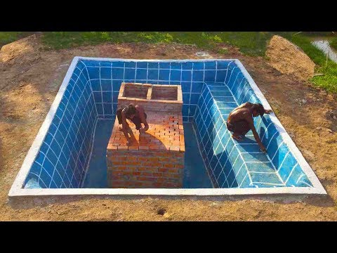 Build Secret Home Under Swimming Pool Part 1