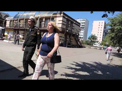 Балтийск Pillau Проспект Ленина у Поля Чудес Калининградская область