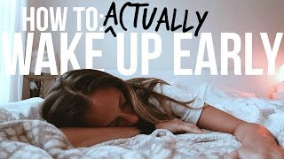 10 Surprising ways to learn how to Wake Up Early in The Morning