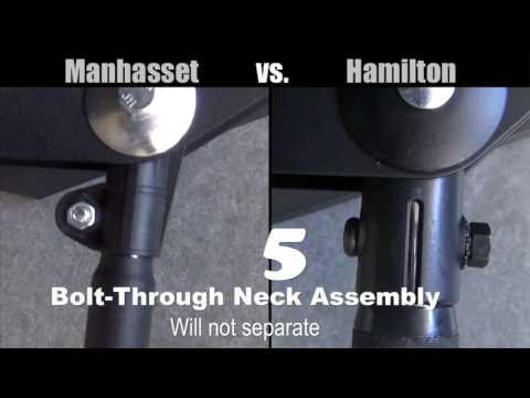 HAMILTON vs  MANHASSET Music Stands
