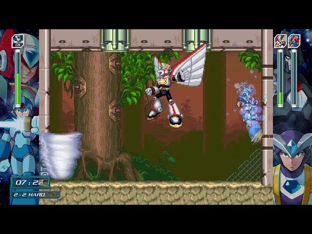 X Challenge Vol.2 Stage 2 [Hard] [COMMENTATED] - Mega Man X Legacy Collection 2