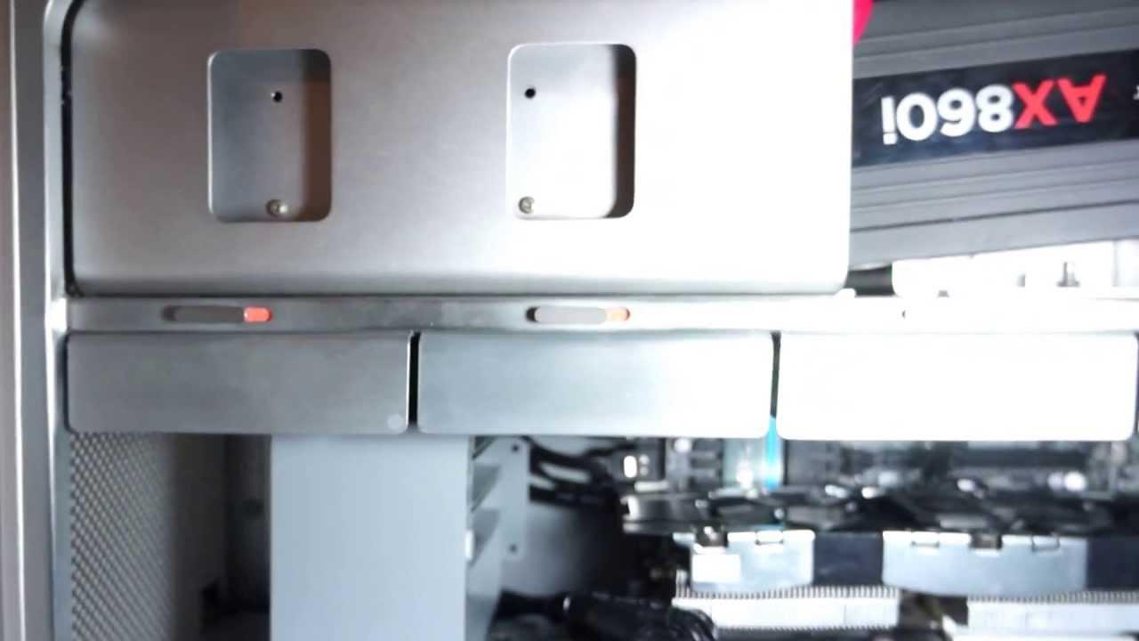 Hackintosh Mac Pro Case Mod For E Atx M B Youtube