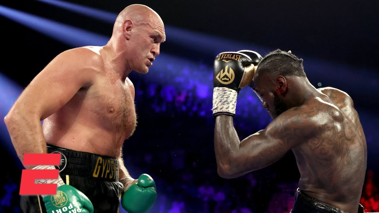 Tyson Fury Beats Deontay Wilder Via Tko Boxing On Espn Youtube