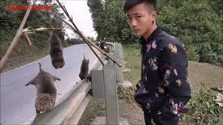 ลุยเวียดนาม(Vietnam) EP98:ขายอ้นข้างทาง  คนเวียดนามขายอ้นตัวเป็นๆ
