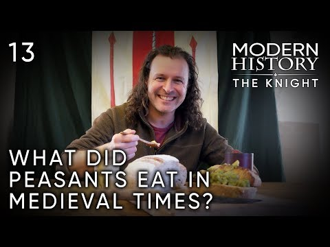 JROD - Ever Wonder What Peasants Or Knights Ate In Medieval Times?