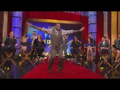 Jacoby Jones does Ray Lewis dance on Good Morning America