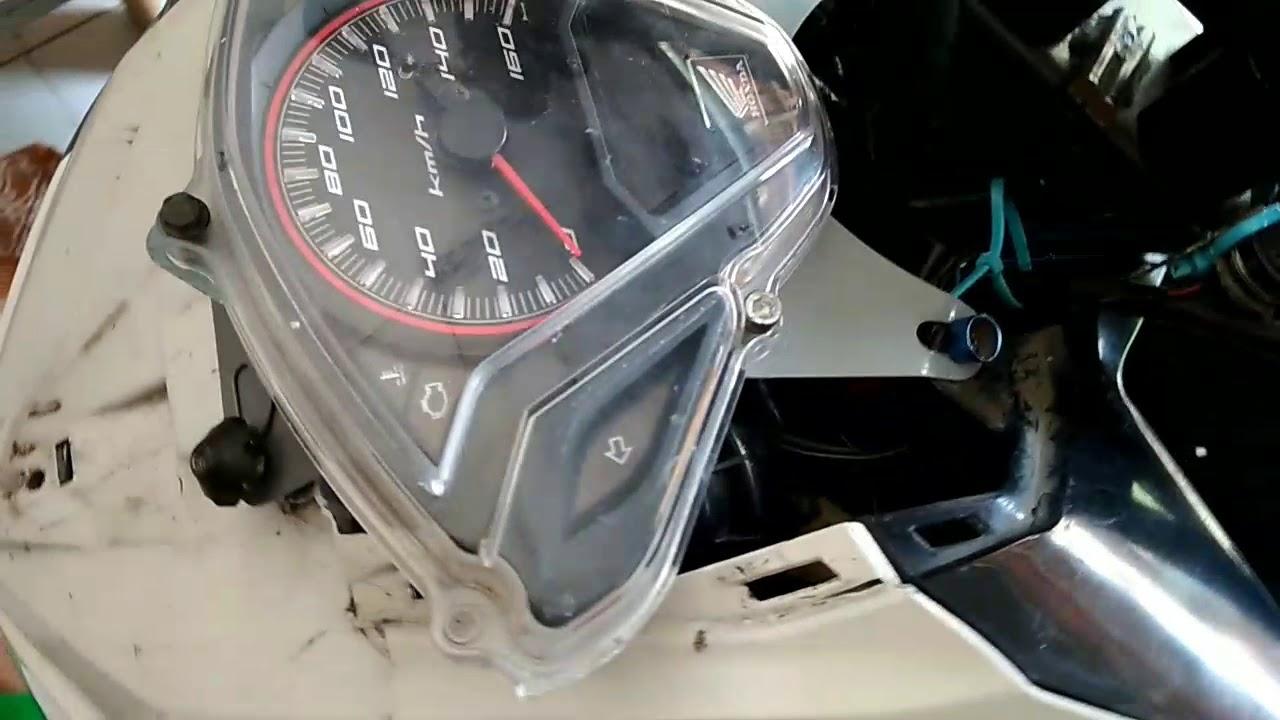 Pasang Speedometer Di Body Vario 125 Stang Trondol Beat Street YouTube