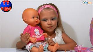 ✔ Кукла Ненуко. Ярослава делает макияж для своей Игрушки / How to make-up for Nenuco Doll ✔(, 2015-09-13T07:44:14.000Z)