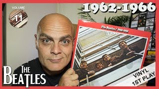"Baixar The Beatles ""1962 -1966"" The Red Album Vinyl 1st Play"