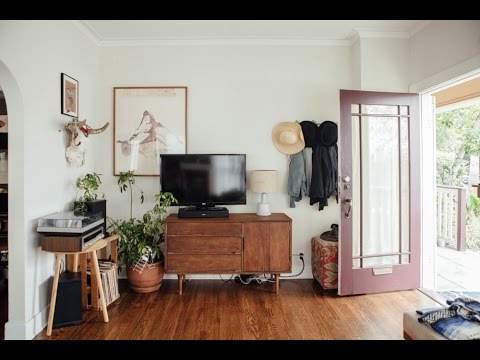 🍍 Interior Design | Vintage & California Style House Tour - YouTube
