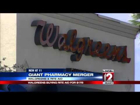 Walgreens Buying Rite Aid Creating Drugstore Giant