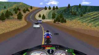 Road Rash (PC) Windows 95 Sierra Nevada level 5