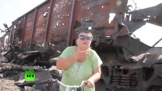 Славянск: зона военных действий