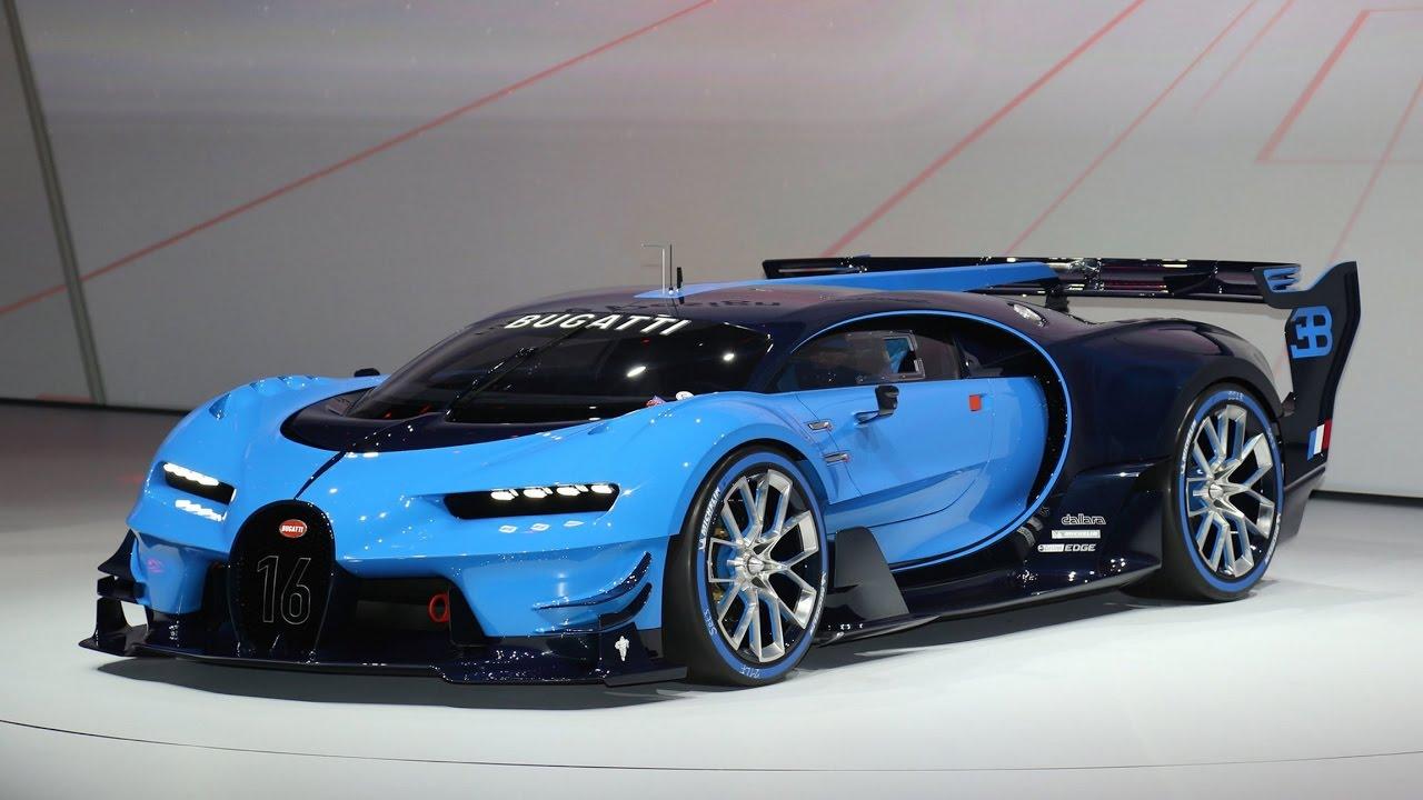 Bugatti Vision Gran Turismo - гиперкар от Бугатти