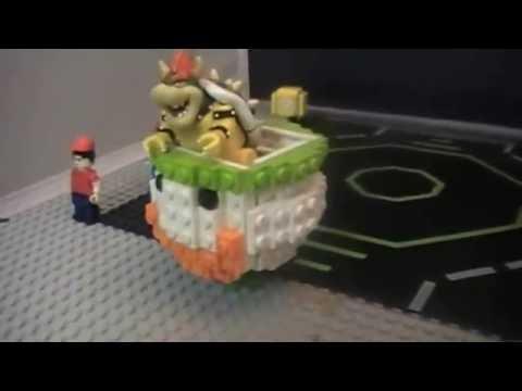 Lego Super Mario World Bowser Quot S Koppa Clown Car Moc Youtube