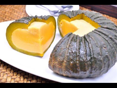 Thai Pumpkin Custard (Thai Dessert) – สังขยาฟักทอง (Sangkaya Fak Thong) [4K]