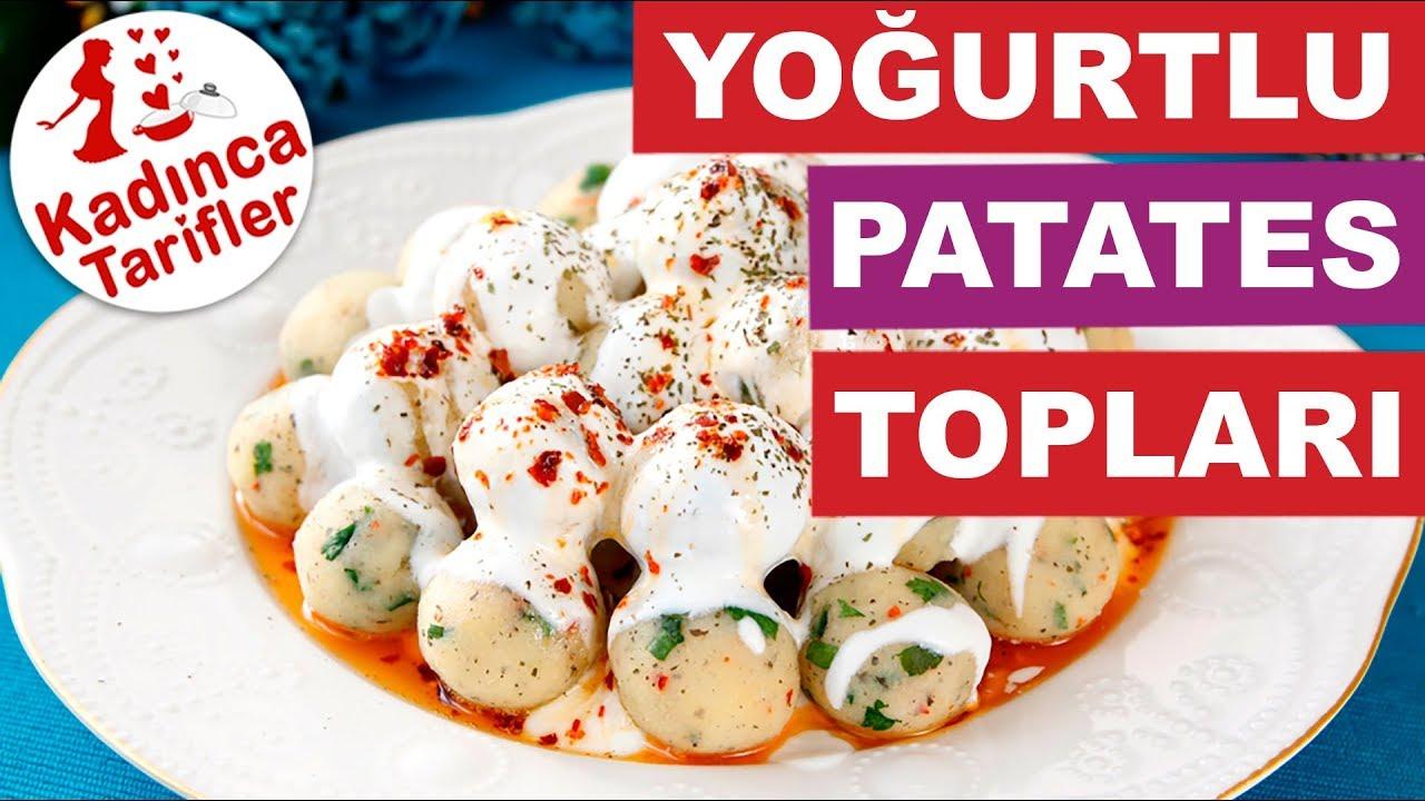 Top Patates Salatası Tarifi – Salata Tarifleri