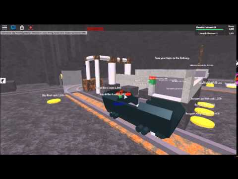 ROBLOX:Jewel Mining Tycoon-Updated Version