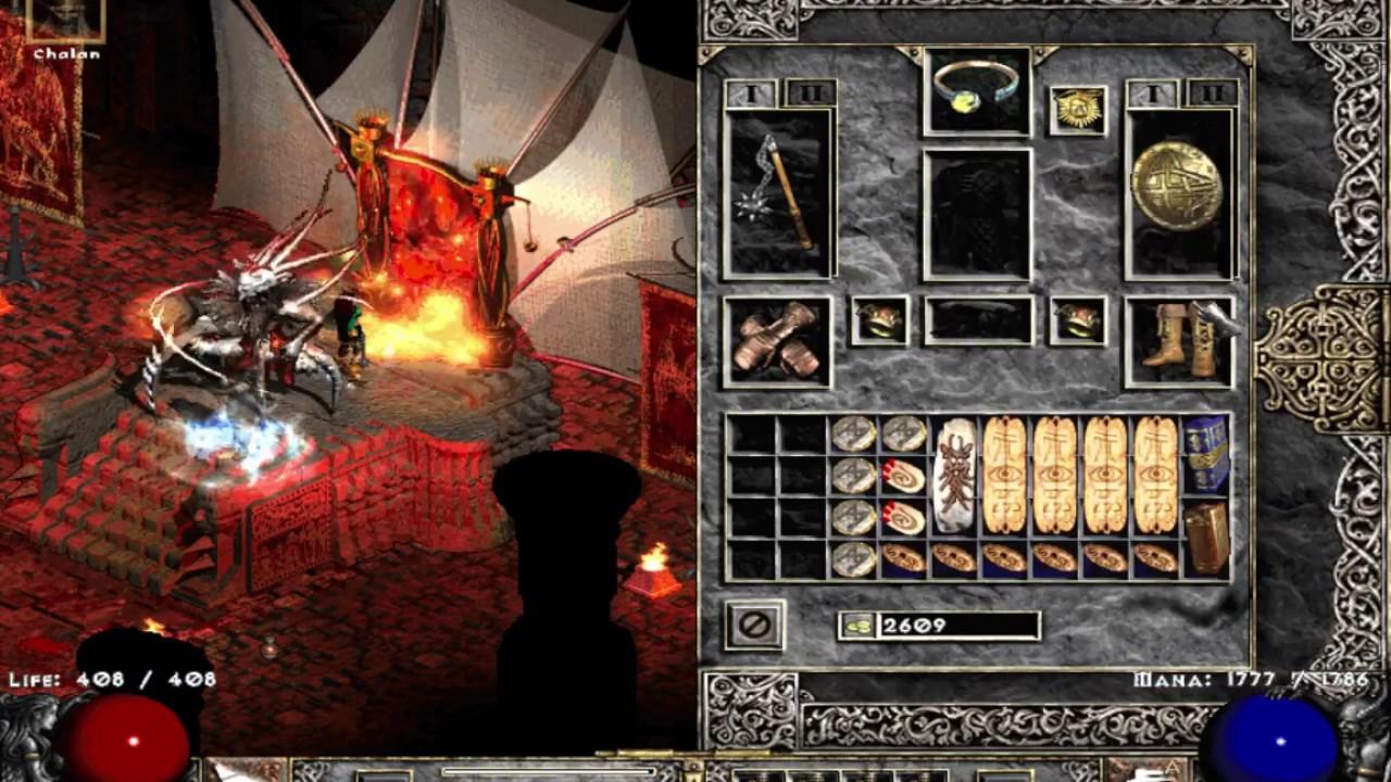 Diablo 2 Single Player: Blova (Blizzard / Nova) Sorc REVAMP - YouTube