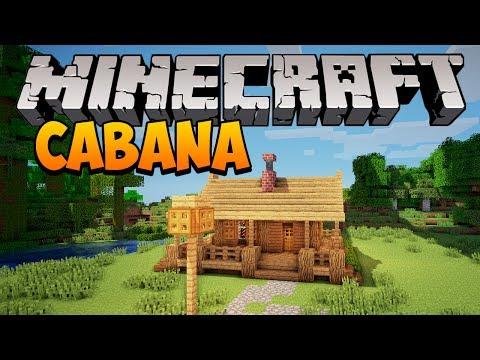 Minecraft: Construindo Uma Pequena Cabana