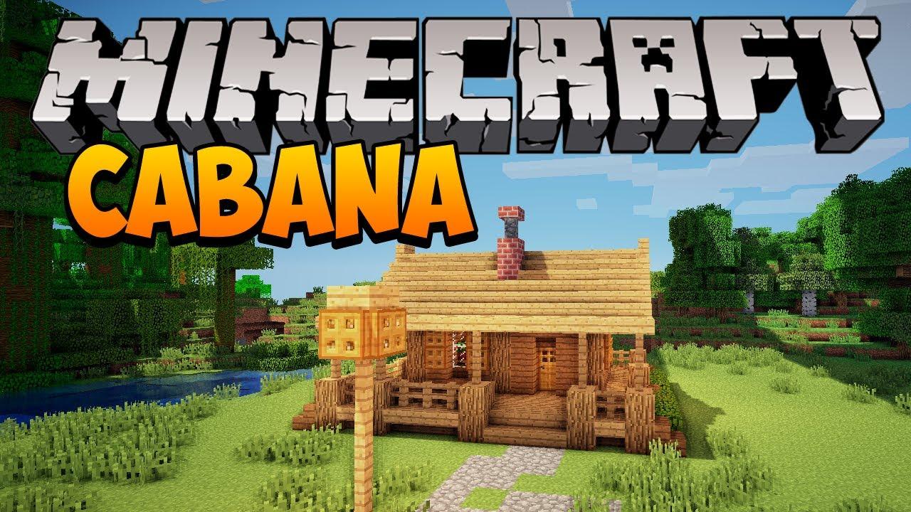 Minecraft construindo uma pequena cabana youtube - Casas pequenas y bonitas ...