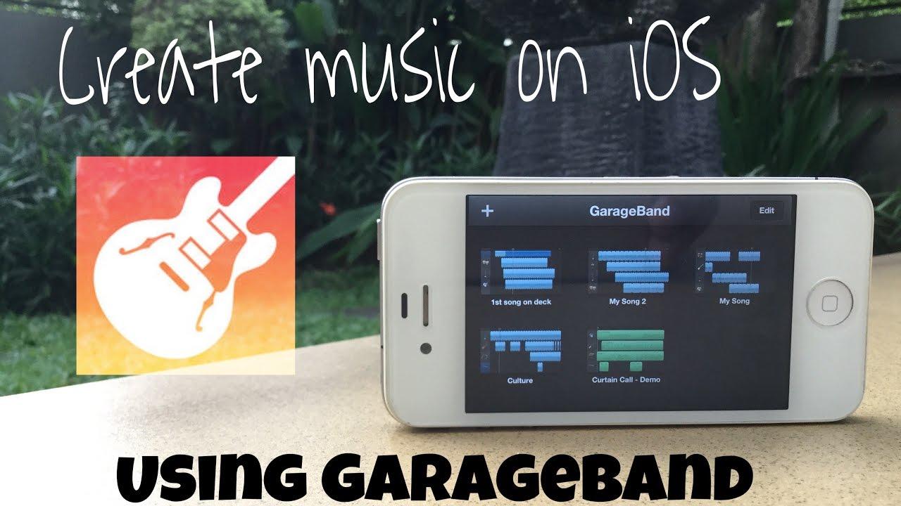How to create music/beats using garageband on iOS the easy way ...