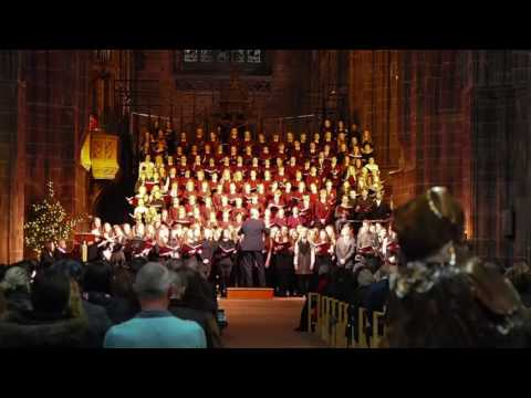 Hammond School Carol Concert 2016 @ Chester Cathedral - The First Noel